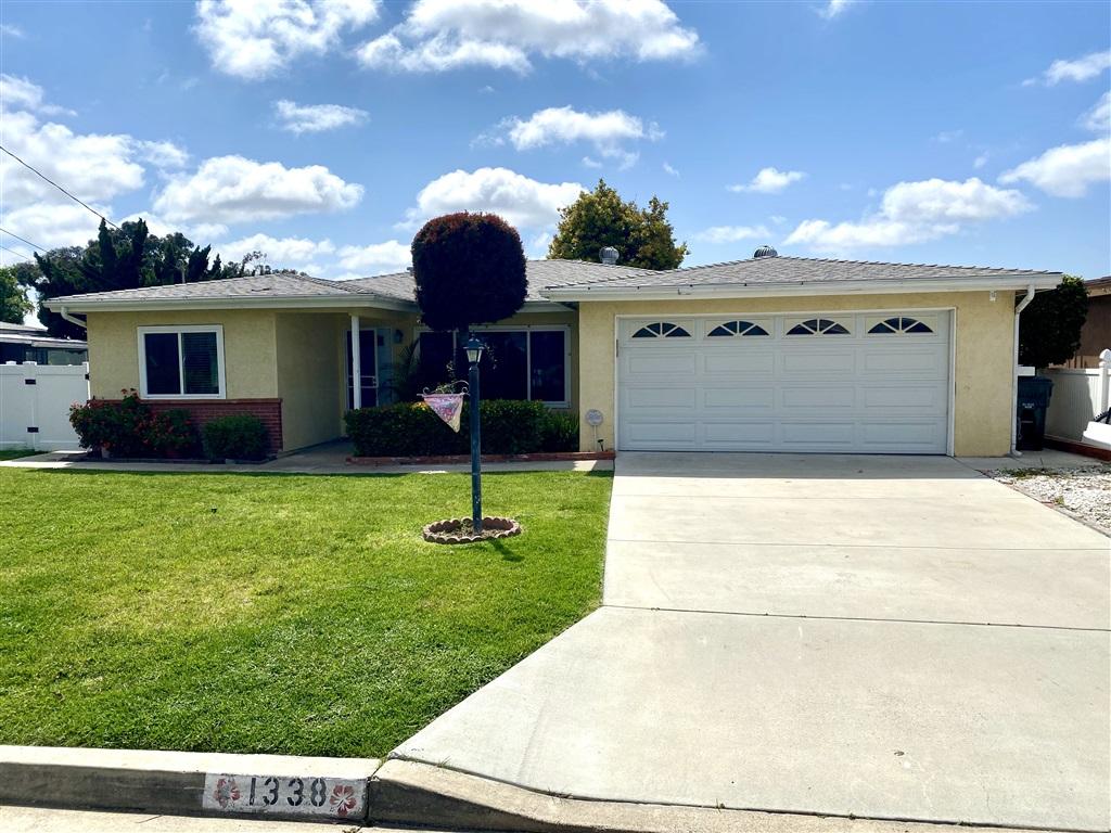 1338 Waxwing Drive, Vista, CA 92083