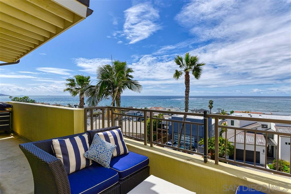 Unobstructed coastline and ocean views greet you as you enter this spectacular Seahaus 3rd floor Breakers unit. Completely remodeled with designer touches throughout.  One of the largest floor plans with great room style layout.  Kitchen features granite counters and stainless appliances. Sun-filled living and dining rooms, with full wall french doors opening to the spacious patio perfect to entertain at sunset. Automatic window coverings, tankless water heater, side by side W&D, custom built-in cabinets.
