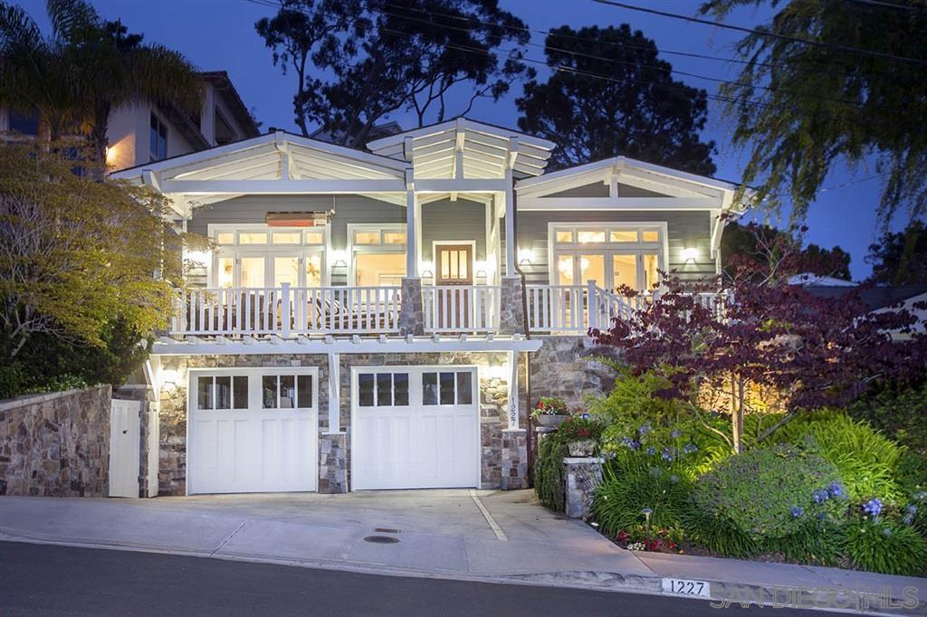 Living minutes from the village of La Jolla where we can relax in the luxurious Lot open-air restaurant and movie theater or watch the sunset from the amazing Eddie V's with its incredible ocean views or read books at our favorite coffee shop, has always reminded us how wonderful it is to live in a home with an ocean view and be so close to the beach in this amazing town. See Supplement ...The ambiance in this home, with over $185,000 spent in the magically lit outdoor entertainment space is an extended living and dining room for us, with hardwired mood lighting everywhere and over 1365 sq.ft. of IPE decking and seating. It is a must see at night! We can invite a few friends over to watch the sunset and the binge watch Netflix/Apple TV on a large pull-down screen in the covered and heated gazebo, after sharing a delicious meal gazing at the expansive ocean sunset and night lights. We hand sanded the wood beam ceilings to give it the color of a white sand beach and added 4 sky-lights, oversized windows and many doors in the living room to let in the ocean breezes. The exterior stones were hand picked and also grace the floor to ceiling fireplace. Because we love to entertain, surround sound in the living room and speakers in the dining room and kitchen always allow us to create the mood we want from the up-beat 50's to classical. I covet the oversized pantry in the dining room. The master suite has 3 walls of windows, ocean views and a large sitting room that could also be an office. At night,we can sometimes faintly hear
