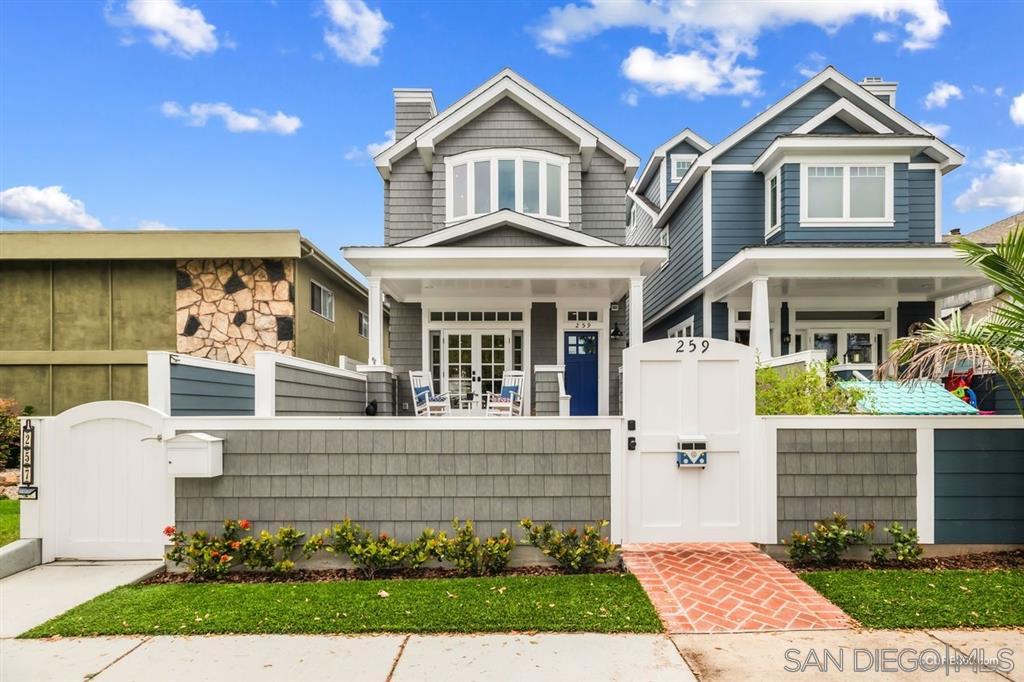 259 C Avenue, Coronado, CA 92118