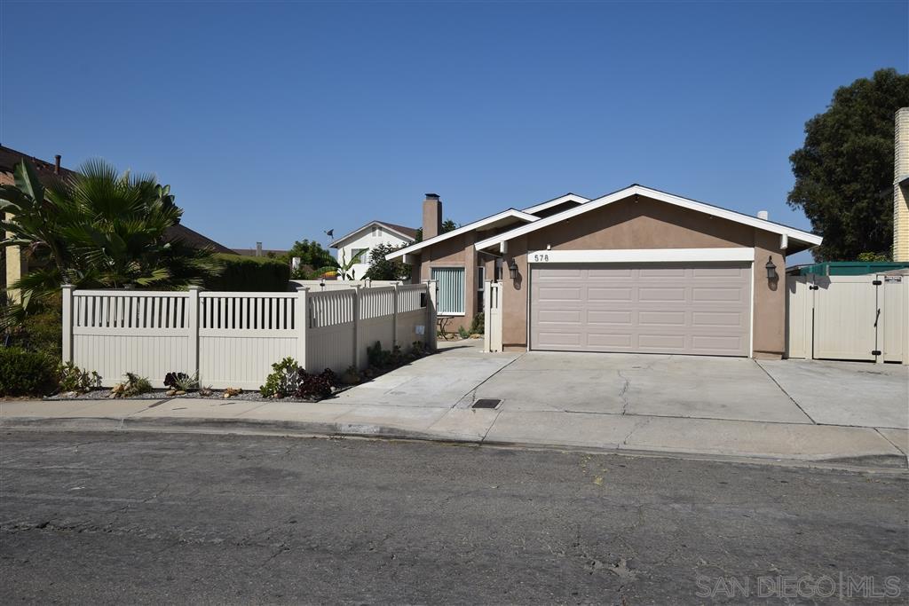578 Parkwood Drive San Diego, CA 92139