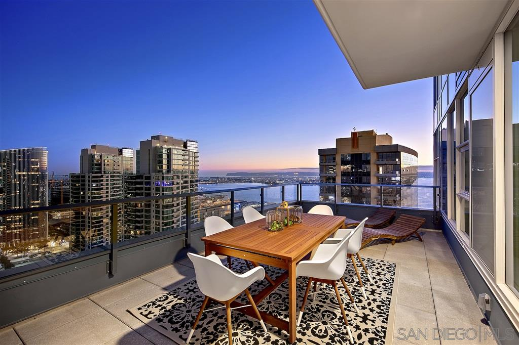 Every once in awhile a unique opportunity presents itself and it is the savvy buyer who knows and appreciates the value. This southwest facing, brand new Savina condo is offering that chance to own something truly special. With 2 of the largest balconies in all of downtown affording wrap around views of the city, the San Diego Bay and beyond, you and your family and friends will never stop enjoying the breathtaking experience. Be the first to enjoy urban living in a brand new tower steps from Little ItalyLocated in the southwest corner and boasting a large west facing and a south facing balcony, this rare opportunity to own a brand new, sky high home is a gift you give yourself. Sweeping and forever views, 2 large balconies, gorgeously appointed kitchen and baths are unique commodities that will always keep their value. When combined with resort-like amenities and services, the choice is easy - Savina.