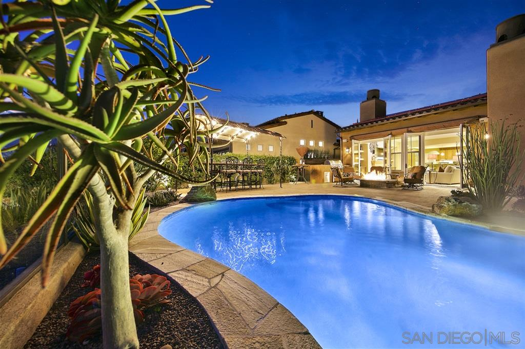 Seller will entertain offers in a range of $1,439,000-$1,549,000. LOOKING FOR YOUR OWN POOL IN QUARANTINE? Phenomenal Sentinel loaded w/upgrades! Rare opportunity to own a home so thoughtfully executed offering a beautiful option for those seeking true romance of Italian authenticity inside & out! Ground floor master & 3rd floor tower BR, creating a 5BR western view! Owned Solar for pool & home!