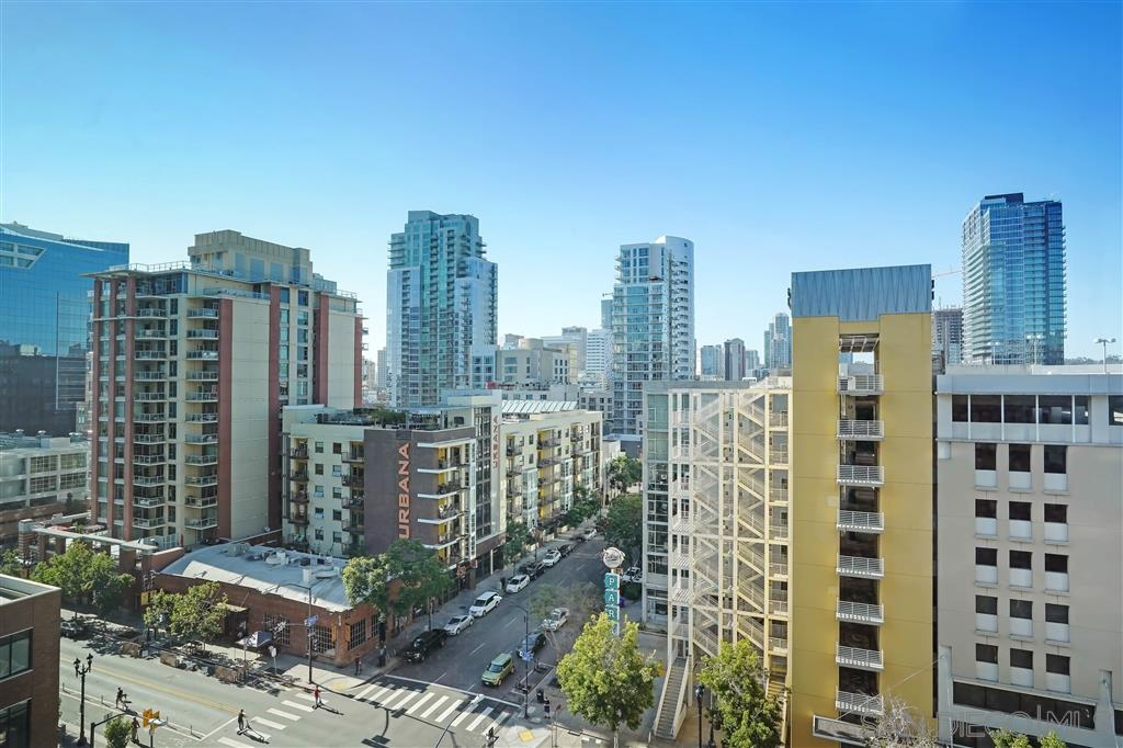 STUNNING 10TH FLOOR CORNER END UNIT-LOCATED IN ONE OF THE MOST HIGHLY DESIRABLE COMPLEX IN DT-ICON!-OPEN KITCHEN CONCEPT-STAINLESS STEEL KITCHEN AID APPS-GRANITE COUNTERS-ENGINEERED HARDWOOD FLOORING-SPACIOUS BALCONY A TRUE EXTENSION OF LIVING ROOM-GORGEOUS PANORAMIC VIEWS-CITY,CORONADO BRIDGE, BAY, HIGHRISES-LARGE MASTER-DUAL SINK VANITY-SPACIOUS WALKIN CLOSET-LARGE FRONT LOADERS W/D ICON FEATURES IMPRESSIVE ONE OF A KIND 26TH FLOOR SKYBOX ROOFTOP(BAY,OCEAN,BRIDGE,CITY VIEWS)FITNESS CENTER,THEATER ROOM!Room measurements are not exact. BTVAPTCOE STORAGE LOCKER AND TANDEM PARKING ASSIGNED.