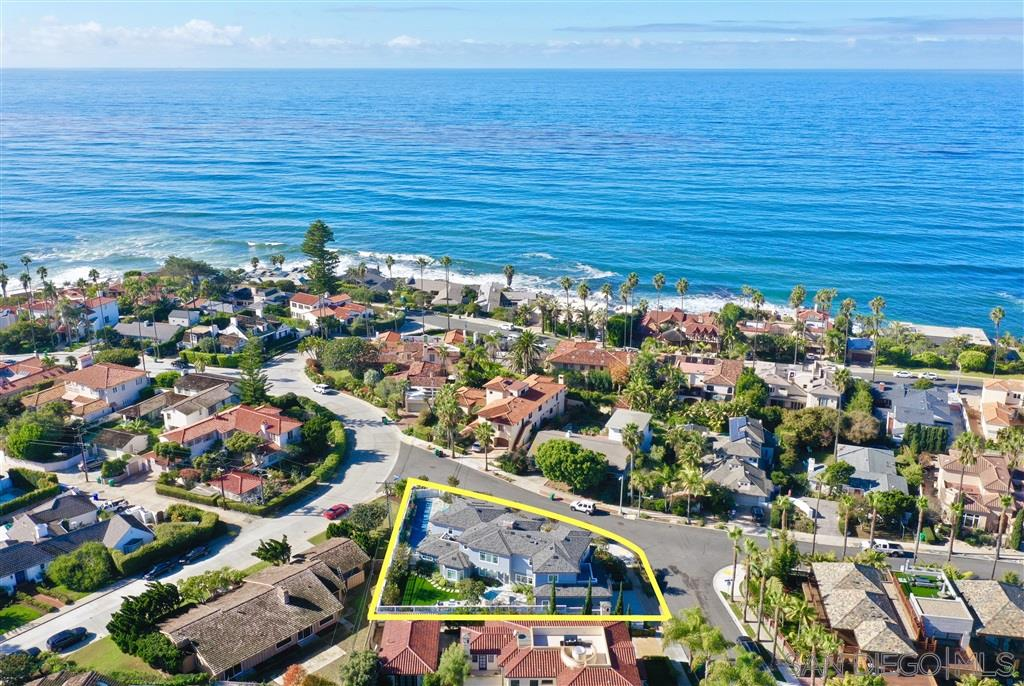 An easy and enjoyable walk from world famous Windansea Beach, this spectacular home has been masterfully designed to appreciate all that La Jolla has to offer.Featuring two spacious outdoor areas for relaxation or play, one provides a spacious grassy area & built in BBQ and the other appreciates a pool and beautiful yard boasting natural sunlight.Spend your afternoons at the beach and walk home to enjoy fabulous sunsets on the upstairs view deck. Award winning landscape design and world class architecturemake this the ultimate connection of class and sophistication, while offering a paradise like feel year round. This is Lower Hermosa at its finest.