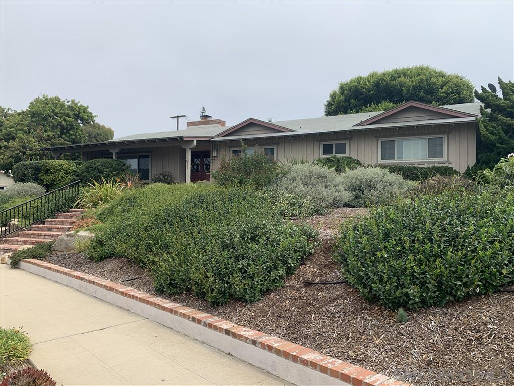 An amazing opportunity on this Sunset Cliffs property located on a large 12,000+ corner lot with ocean views.  Just one block off of the water, this single story has 4 sizable bedrooms, 2.5 baths, 2 car garage with parking for a boat or RV.  Keep the single story or add a second story to capture even better views.  Lush landscaping in both the front and back yards, plenty of room for a pool or an ADU.  Enjoy the morning soaking up the peaceful garden with coffee & then the sunset with a glass of wine.