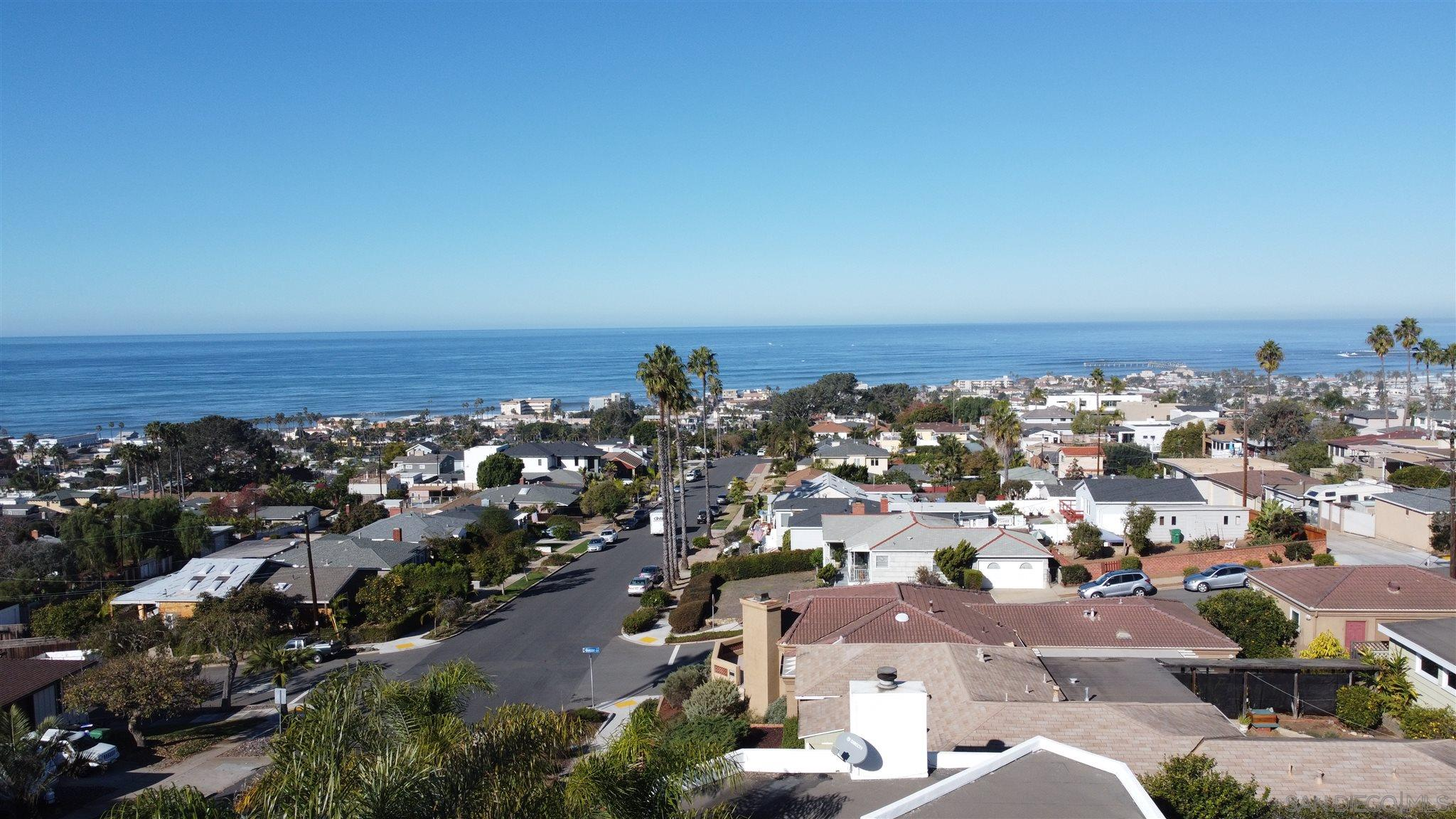 WOW! Fantastic opportunity to complete this beautiful home and personalize it. Lender owned and ready to sell. Call all of your builder clients to come and see this amazing property. Incredible ocean views from the Master bedroom and roof deck. Great neighborhood on ocean-side of Pt. Loma. Use this link to access building plans and video of site: