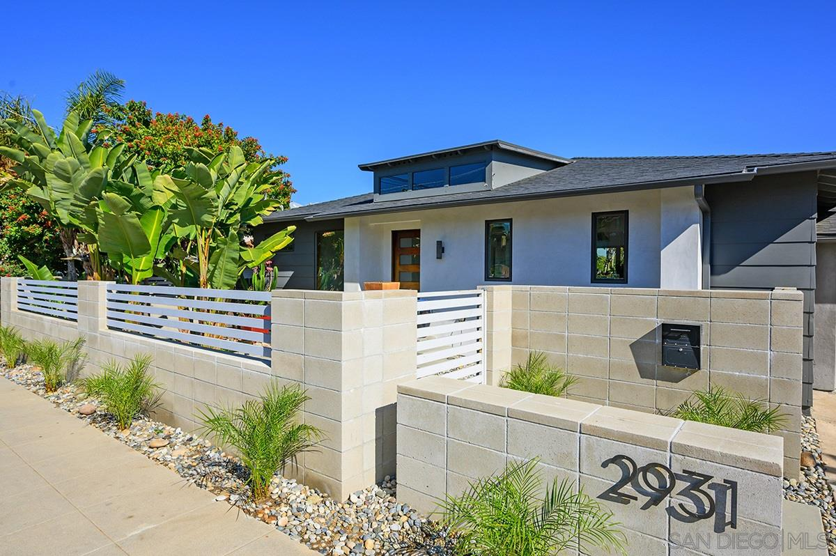 Dwell here! This stunning canyon home was fully remodeled in 2015. Its modern style is complimented by an open kitchen/living rm overlooking the canyon. A 21ft wall of glass leads you to a lg deck with a gorgeous view to the East. Gorgeous kitchen with Bertazzoni range/oven, quartz countertops, S/S appliances. The master bdrm is perfectly private, and has the master bath of all master baths. Fresh paint, clean lines, open floorplan, this home is a delight.Don't miss the remodeled studio w/private entrance