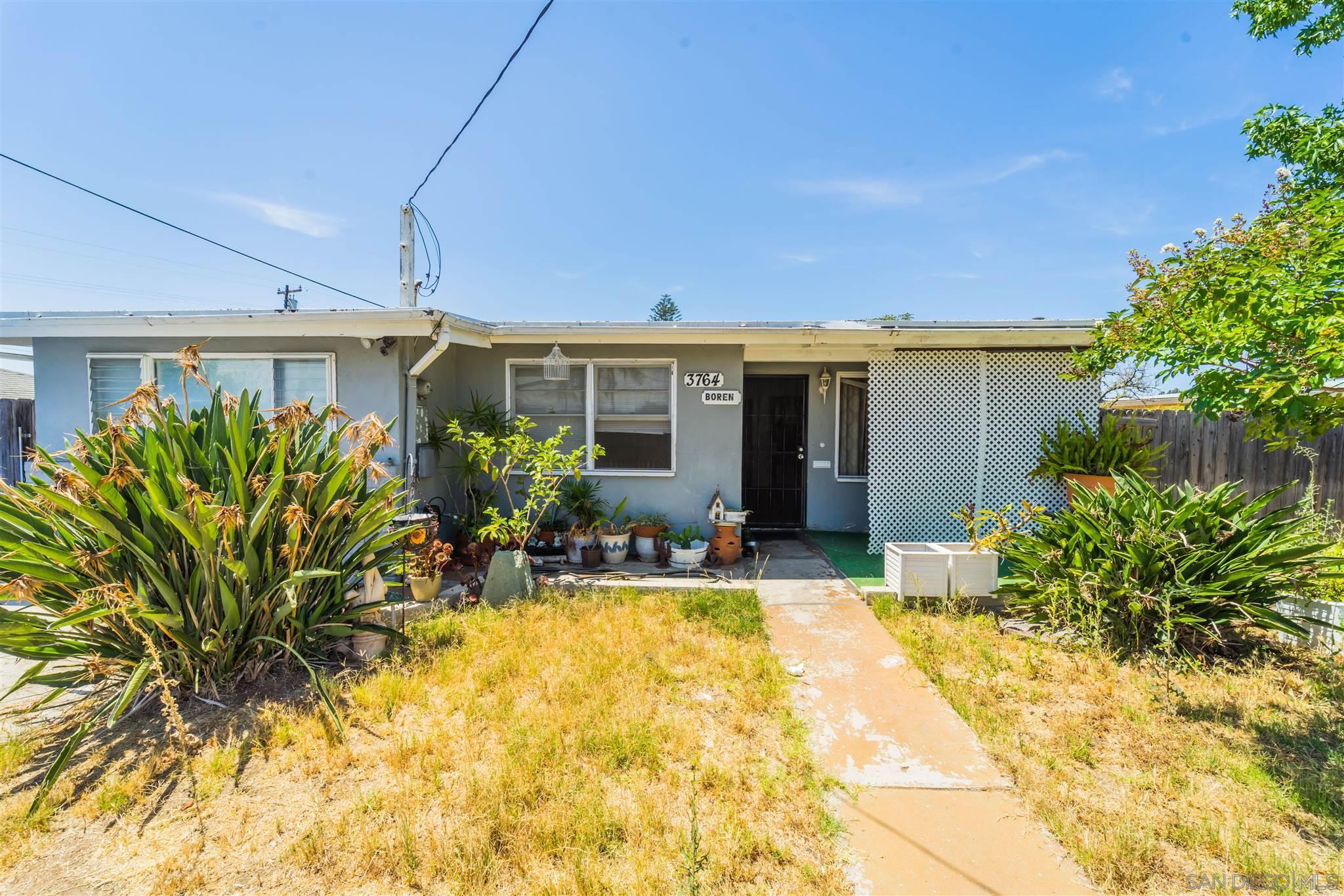 3764 Boren, San Diego, CA 92115