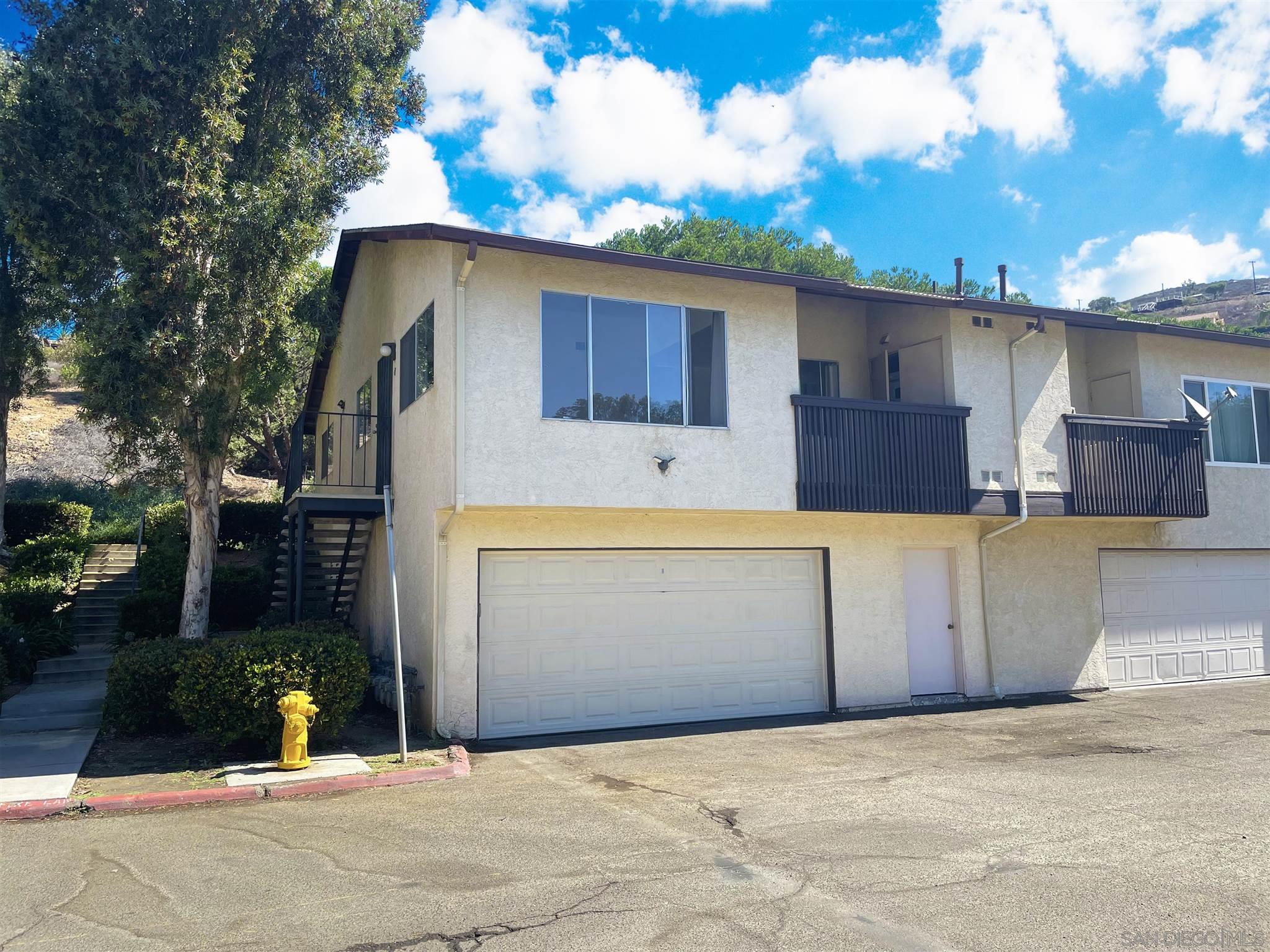 Corner unit only sharing one wall, brand new windows installed, new roof, 2 car garage, central A/C, gated nice & quiet community with pool and club house, tile and laminate flooring, balcony.