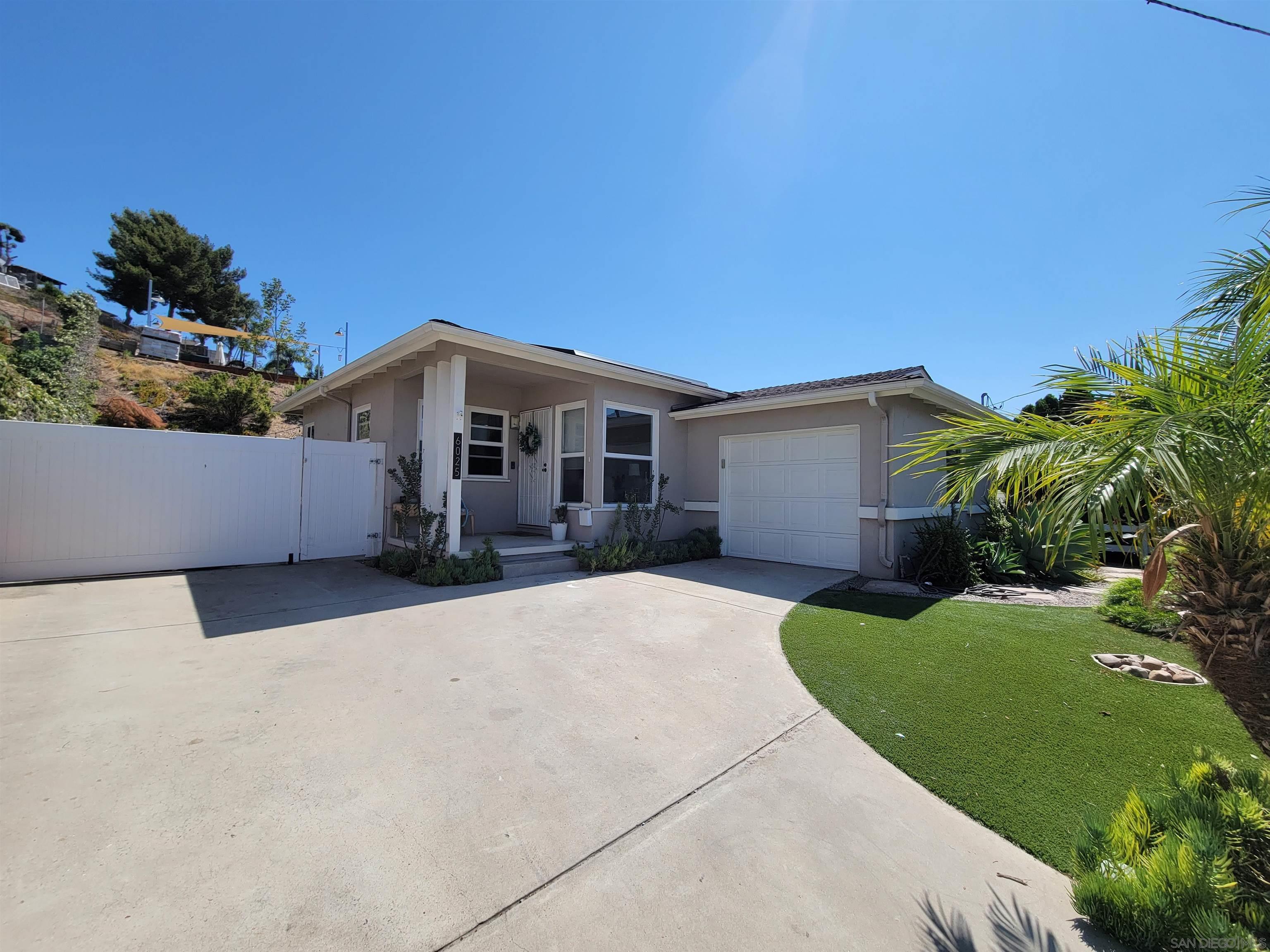 6025 Kelton Ave, La Mesa, CA 91942