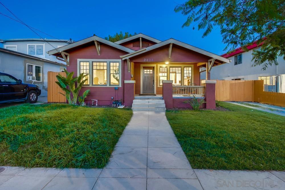 2121 Dale St., San Diego, CA 92104